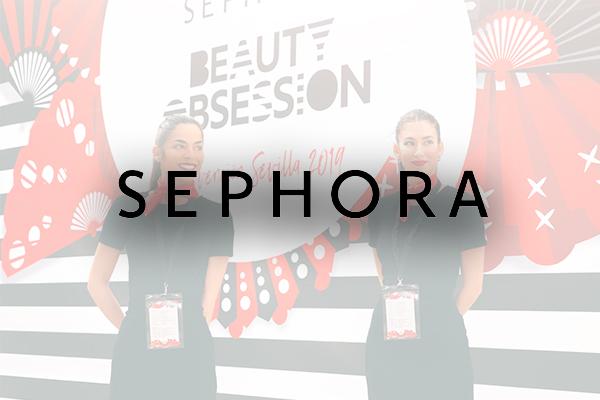Azafatas Hello Monday Sephora
