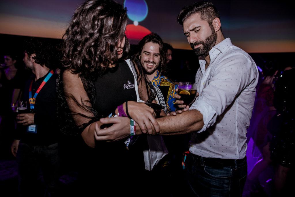Nuestras azafatas y Jorge Cremades en los premios MTV EMA 2019