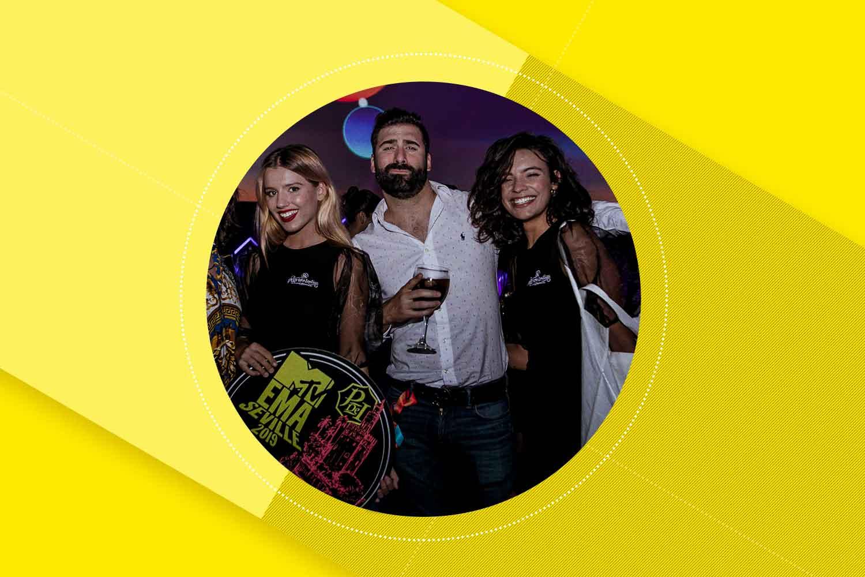 Azafatas En La MTV EMA