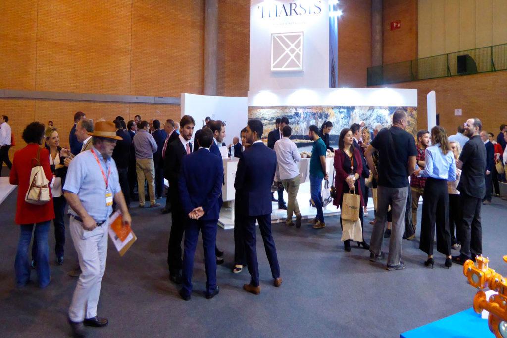 Más de 10.000 profesionales asisten a la Feria de la Minería en Sevilla