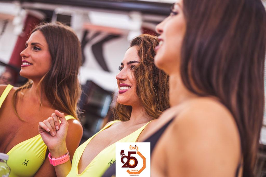 Nuestras azafatas disfrutan de la fiesta de Rives en Málaga