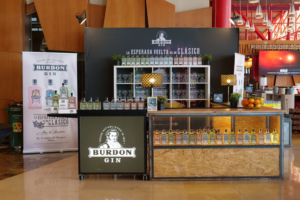 Cómo organizar un stand de Burdon