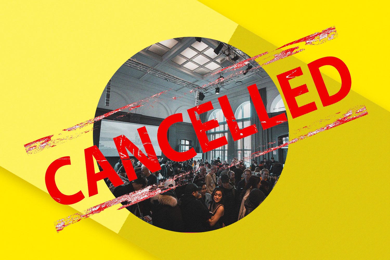 Cancelaciones Por El Coronavirus: El Mundo De Los Eventos