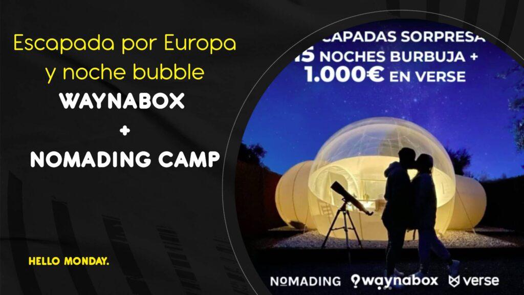 Waynabox y nomading camp